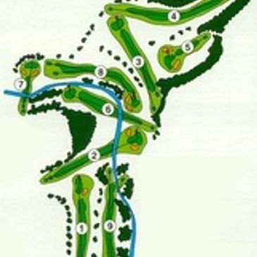 Mill Valley Golf Course Layout