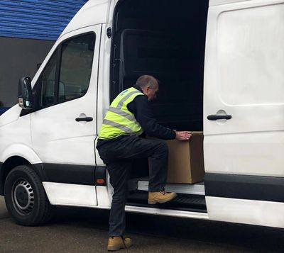 Holistic Logistics Courier, VW Crafter LWB Van