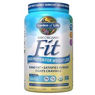 Garden of Life Organic Meal Replacement - Raw Organic Fit Powder, High Protein, Fiber, Probiotics