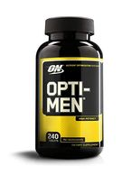 OPTIMUM NUTRITION Opti-Men, Mens Daily Multivitamin Supplement with Vitamins C, D, E, B12, 240 Coun