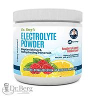 Dr. Berg's Electrolyte Powder, High Energy, Replenish & Rejuvenate Your Cells, 45 Servings,