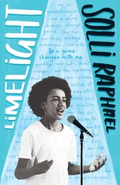 Solli Raphael limelight book poet slam poet poetry commonwealth games champion