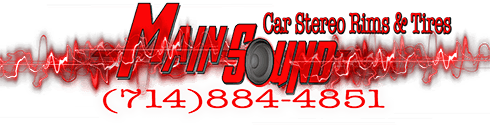 We are the MAIN SOURCE for Car Audio,Rims and Tires!