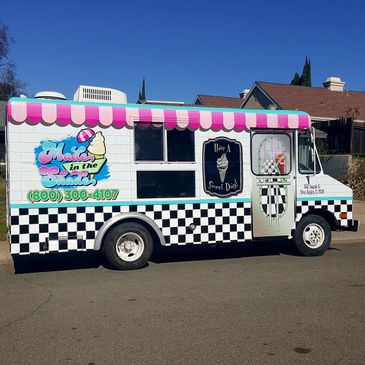 The Made In The Shade Mobile Soft Serve Ice Cream Parlor