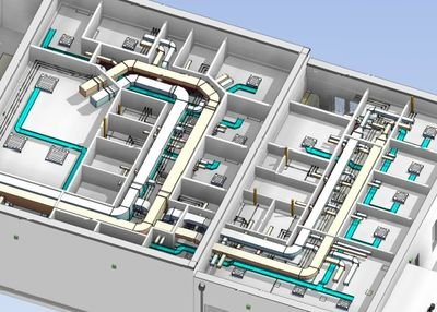 We are fully up to speed with all things BIM & 3D modelling can be utilised at all stages of design