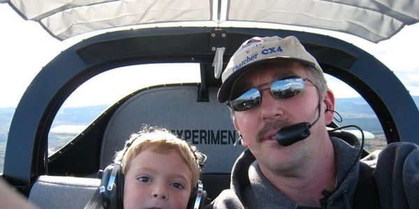 Even the tiniest of pilots can operate a custom-fit Koger Sunshade!