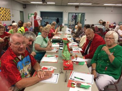 Senior citizens enjoying the fun activities that Weston Senior Center has to offer.