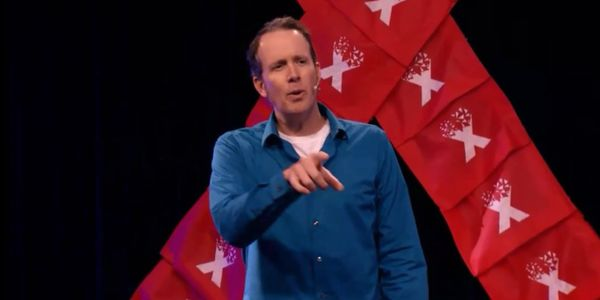 "Dr. Steven Vrooman speaking at TEDxSanAntonio: ""Our Brains Are A'Twitter"""