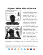 The Visual Aid Architecture chapter, about overall slidedeck design strategy.