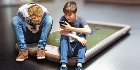Screen time among children is rising rapidly as are the opportunities for digital addiction