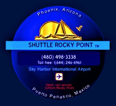 Shuttle Rocky Point Logo. All rights reserved.