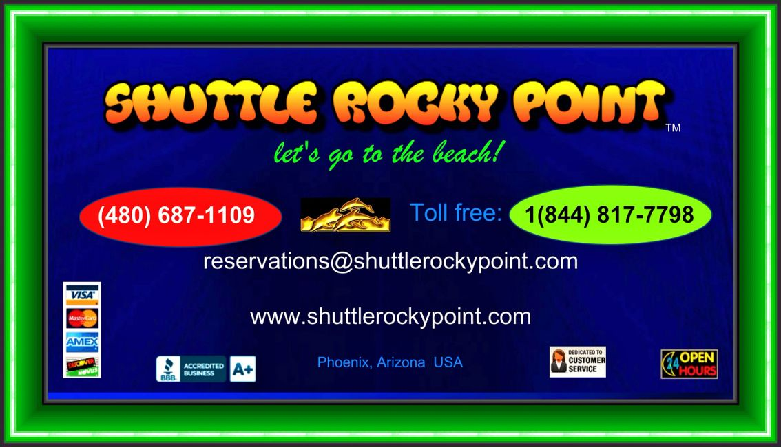 Shuttle Rocky Point Main Logo.  All rights reserved.