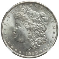 1900 $1 Doubled Wing, VAM-24, MS64 NGC