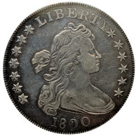 1800 1$ PCGS VF35 Dotted Date