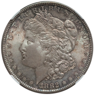 1882-S $1 MS67 NGC. CAC