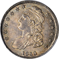 1836 Capped Bust Half Dollar Lettered Edge PCGS MS64