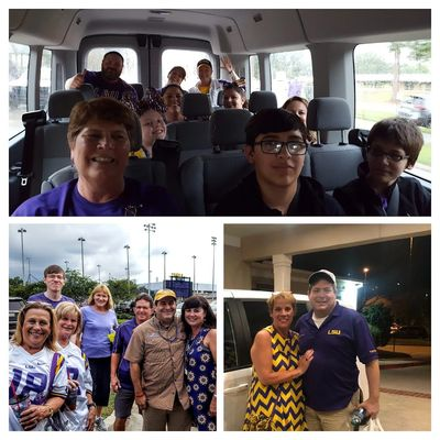 LA Corporate & Executive Transportation LSU Game Day Shuttle Company Clients