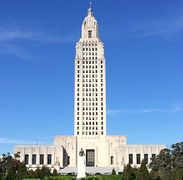 The New Louisiana State Capitol Building. The tallest capitol in the U.S.  A must see!