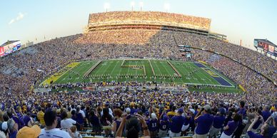 LA Corporate & Executive Transportation LSU Game Day Shuttle Company  - Over 100,000 fans