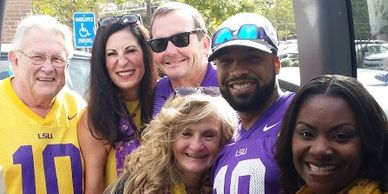 LA Corporate & Executive Transportation LSU Game Day Shuttle Company  - Our Wonderful Clients
