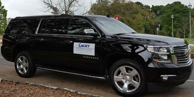 LACET Transportation has 2018 vehicles for Airport Transportation.  BTR Airport or MSY Airport.