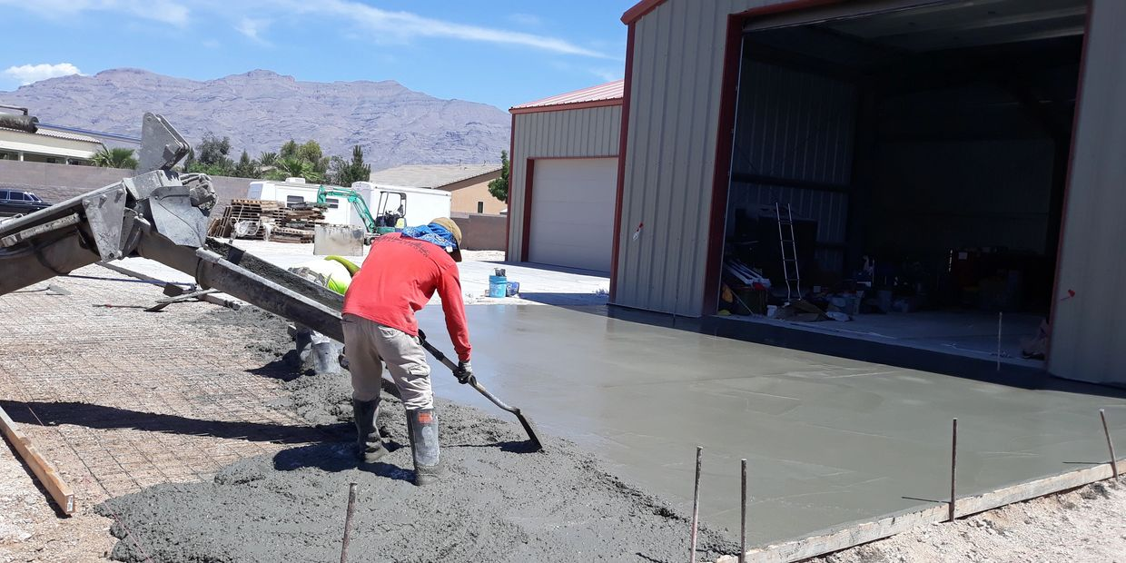 Best Mobile Mix in Las Vegas. Concrete mixed onsite. Concrete Delivery Las Vegas