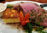 Prime Rib with Grilled Polenta