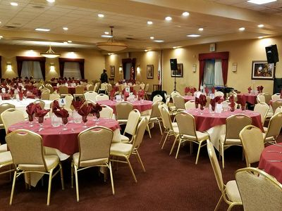 Banquet rooms available for 25-250 guests
