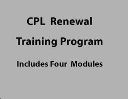 The Michigan Concealed Pistol Renewal Training Program