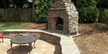 Fireplace in Raleigh, NC