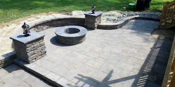 Paver Patio in Clayton, NC
