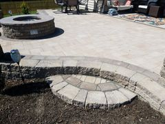 Paver Patio in Raleigh Area