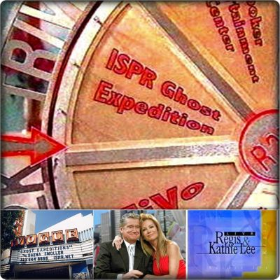 GHOST EXPEDITION in England is a Y2K Wheel Prize on LIVE Regis & Kathie Lee