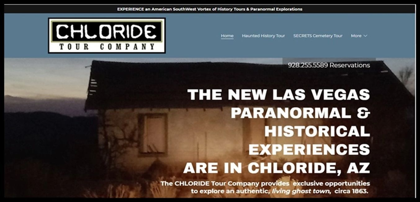 Chloride Tour Company  offers the new Las Vegas paranormal and historical experiences for visitors
