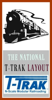 National T-Trak Layout