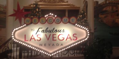 welcome to las vegas sign theme décor rentals