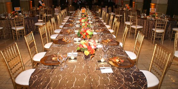 Bay City Events will plan and execute your next special gala. 20 years of event planning and design.