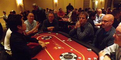 Poker tournament and poker table rentals