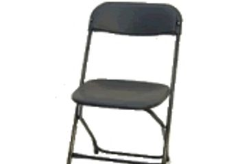 Black Folding Chair Rentals, Bay Area Chair Rentals, Folding Chairs