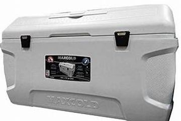 Maxcold Large Cooler, 165 Q, 156 L