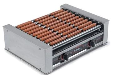 hot dog roller and cooker