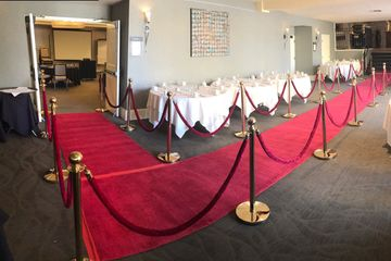 Red Carpet Rentals, 4' x 10', 4' x 20', 4' x 50', Custom Carpet Sizes Available