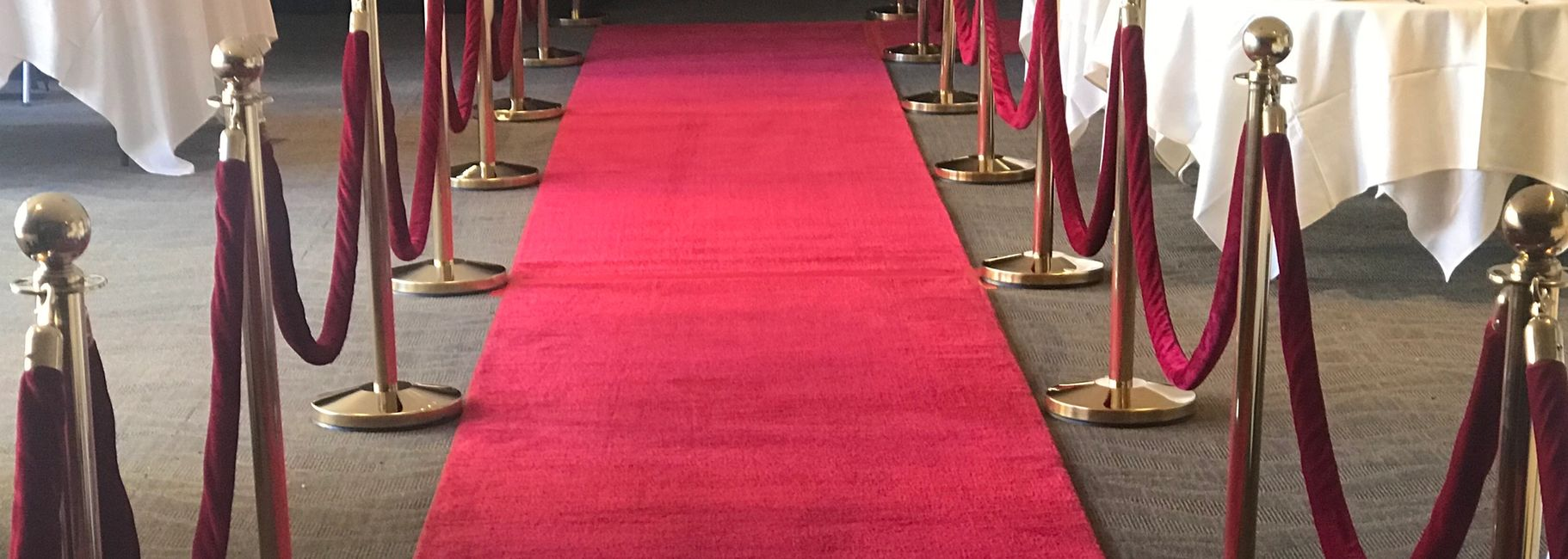 Bay Area Red Carpet Rentals, Red Carpet Runners, Royal Blue Carpet Runners