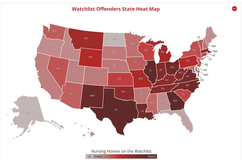 WATCHLIST  BY STATE