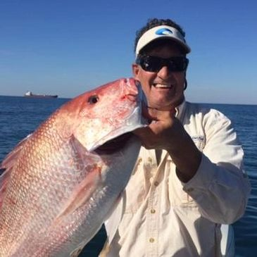 Biloxi fishing charters red snapper action