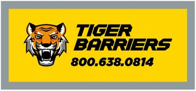tiger barriers plastic water barriers for rent