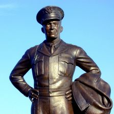General Eisenhower Statue, Michael Curtis
