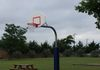 Our new basketball goal for our St. Anne's Youth