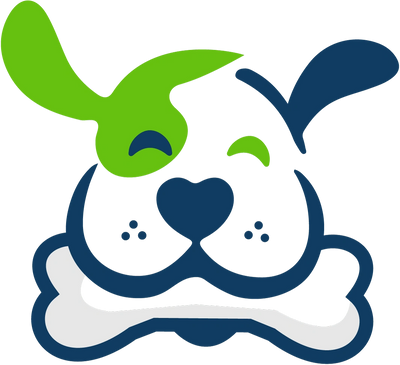 One lucky pup logo