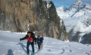 Ski touring int he Rocky Mountains and BC Interior Ranges